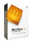 MultiTouch for Windows Forms 1.0J 20開発ライセンス ダウンロード