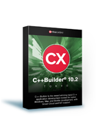 C++Builder 10.2 Tokyo Professional ESD(保守3年付き)