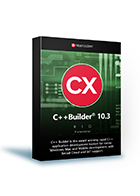 C++Builder 10.3 Professional(保守1年付き)25 YEARS of DELPHI キャンペーン