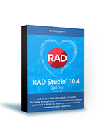 RAD Studio 10.4 Professional(保守3年付き)